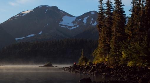 Amanecer en Garibaldi Lake