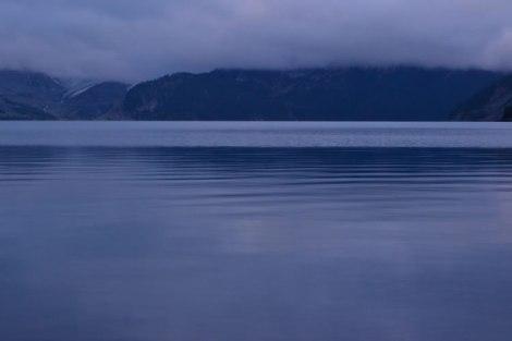 Atardecer en Garibaldi Lake