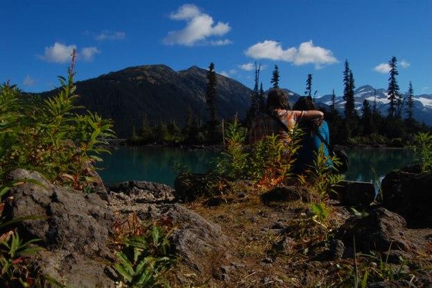 Nosotros en Garibaldi Lake