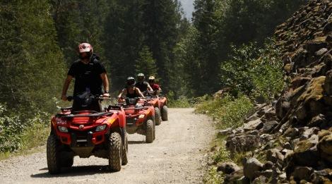 Paseos en motos por cougar mountain.