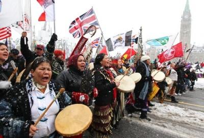 Las primeras naciones canadienses. Foto de google.