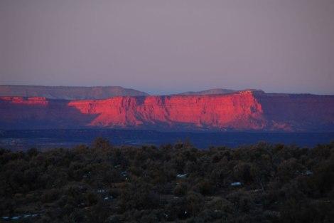 Vermilion Cliffs al amanecer