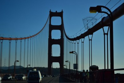 Entrando por el Golden Gate