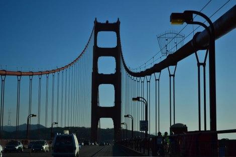Entrando por el Golden Gate