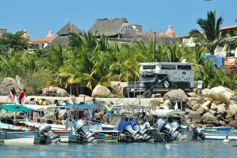 Nuestro Camping en Punta de Mita