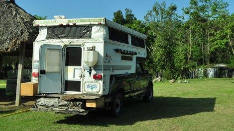 Nuestro lugar de camping