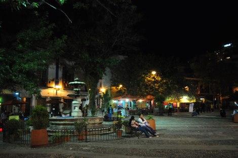 Restoranes en las plazas