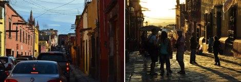Tráfico y muchísima gente fe la bienvenida a San Miguel de Allende