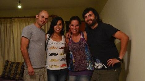 Con Manuel y Mayela, los recién casados!