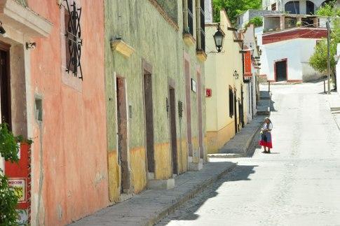 Calles del centro de Bernal