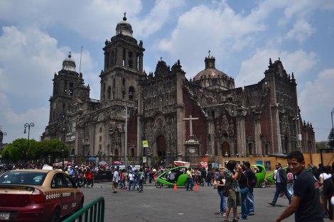 Catedral en el Zócalo