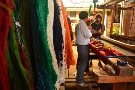 En Teotitlán del Valle, este artesano nos explica cómo funciona el telar