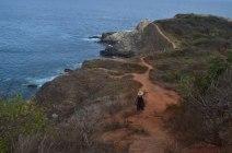 Camino a pescar a Punta Cometa