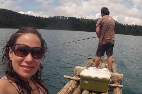 Paseo en balsa por el Lago Tziscao