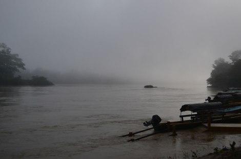 Río Usumacinta y nuestra salida hacia Yaxchilán