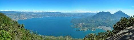 Vista desde la cumbre del Volcán San Pedro