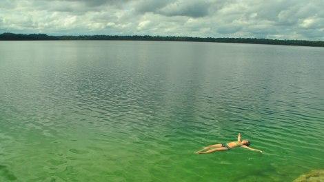Una delicia para nadar!