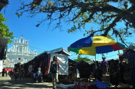 La Plaza (mercado) de Rabinal