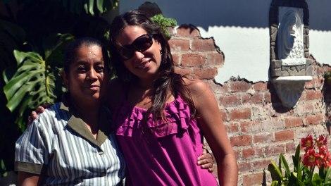 Junto a Delmy en Apaneca