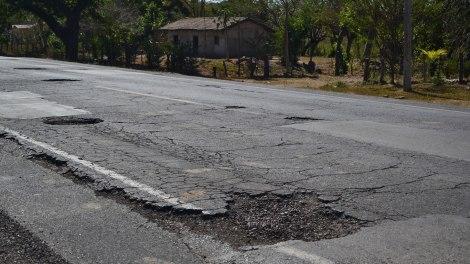 Carreteras de Honduras... sin comentarios!