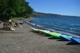 Bastante viento, Laguna de Apoyo