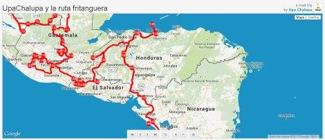 Nuestro recorrido en Honduras, desde El Salvador, hacia Nicaragua