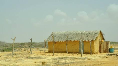 Casas de los indígenas Wayúu