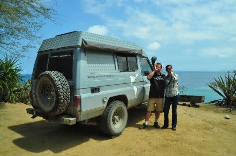 Lise y Laurent de Francia y Nueva Caledonia.