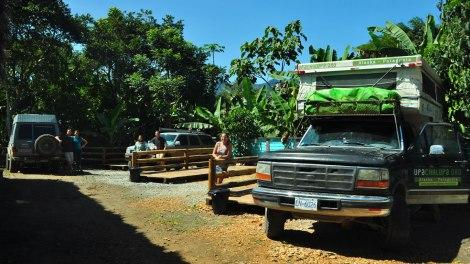 Espacios para acmpar, Camping La Bicok, Mindo