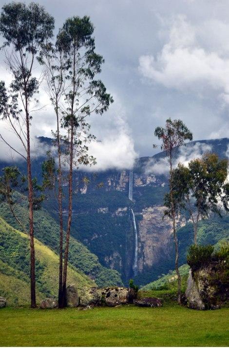 Vista del Lodge, Cascada Gocta