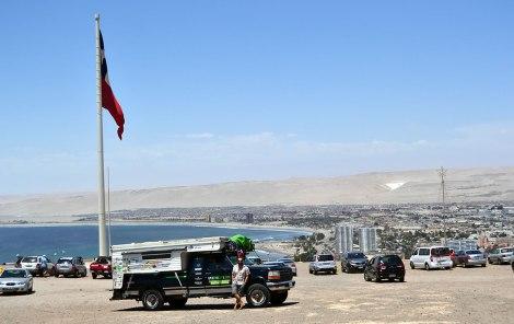 Piscola en el Morro de Arica