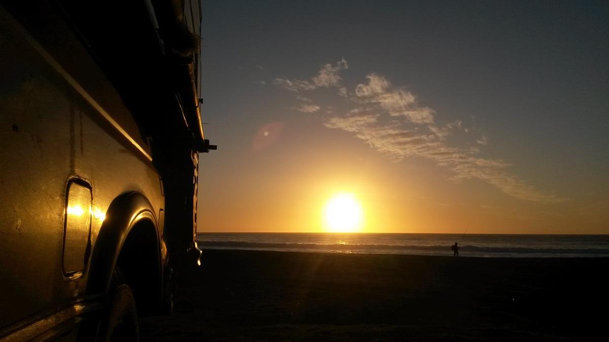 Por la costa hacia el Sur de Chile